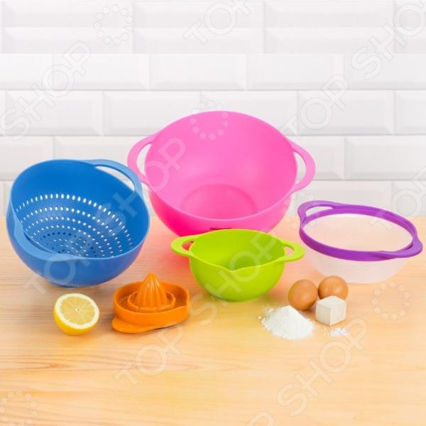 Набор кухонных многофункциональных чаш Delimano «Брава» 5 в 1