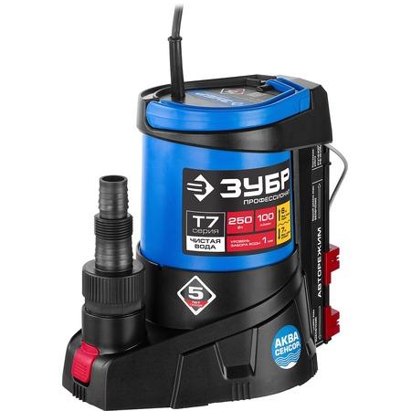 Купить Насос погружной дренажный для чистой воды Зубр «Профессионал» НПЧ-Т7-250