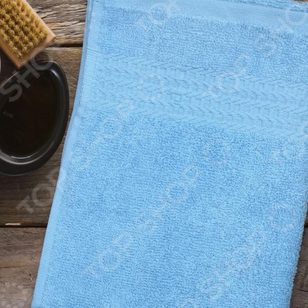 Полотенце махровое Amore Mio AST Classic. Цвет: голубой полотенце махровое amore mio ast classic цвет малиновый