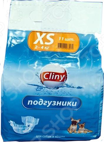 Подгузники для собак и кошек Cliny универсальные