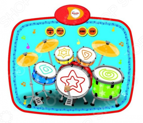 Коврик развивающий музыкальный Наша Игрушка «Барабанщик» музыкальный коврик наша игрушка мышиные бега 631226