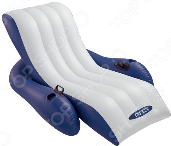 Кресло-шезлонг надувное Intex 58868. В ассортименте Кресло-шезлонг надувное Intex 58868 /