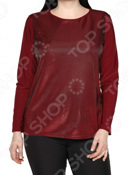 Блуза Лауме-Лайн «Чувство стиля». Цвет: темно-бордовый блуза лауме лайн шикарный букет цвет розовый