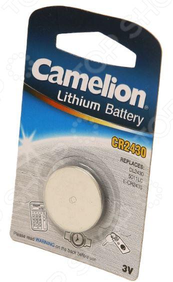 Батарейка литиевая Camelion CR2430 BL-1 цены