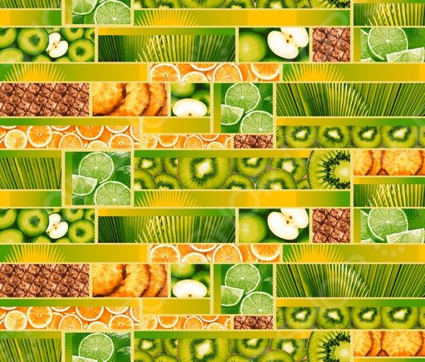 Полотенце банное вафельное ТексДизайн «Тропический остров»