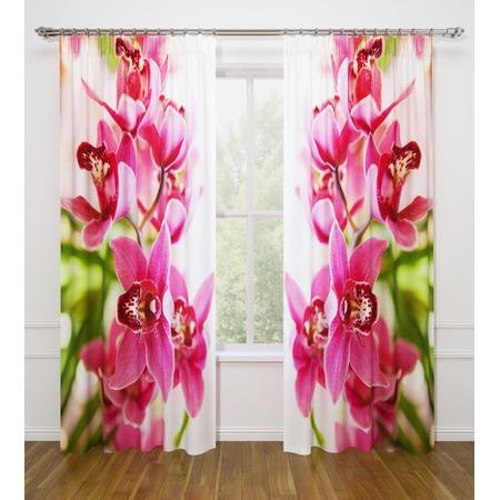 Купить Фотошторы Стильный дом «Душистая орхидея»
