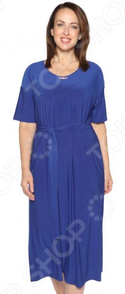 Платье Лауме-Лайн «Ласковый вечер». Цвет: васильковый