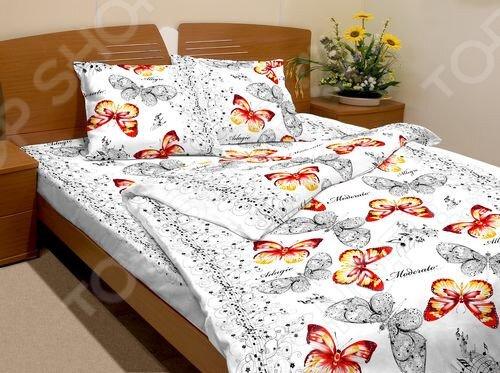 Zakazat.ru: Комплект постельного белья Fiorelly «Лунная соната» 3395-1. 1,5-спальный