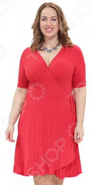 Платье Laura Amatti «Легкое мгновение». Цвет: красный