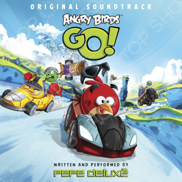 Pepe Delux? - Angry Birds Go! Original Soundtrack original 4 3 inch lcd screen for tomtom go 530 go 730 go 930 lcd display screen panel with touch screen digitizer