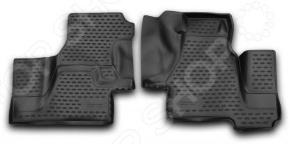Комплект 3D ковриков в салон автомобиля Novline-Autofamily Mercedes-Benz Sprinter Classic W909 2000-2006 / 2013 mercedes а 160 с пробегом
