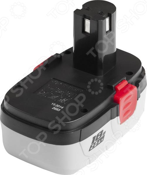 Батарея аккумуляторная Зубр ЗАКБ-18 N20 аккумулятор зубр закб 7 2 l15