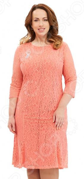 Платье Pretty Woman «Королева Англии». Цвет: коралловый
