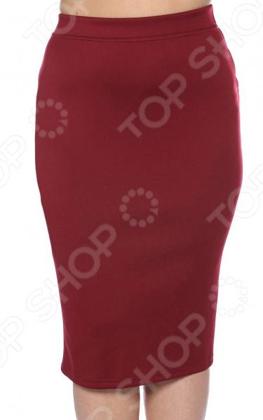 Юбка Лауме-Лайн «Любимый цвет». Цвет: бордовый юбка лауме лайн волшебная улыбка цвет коричневый