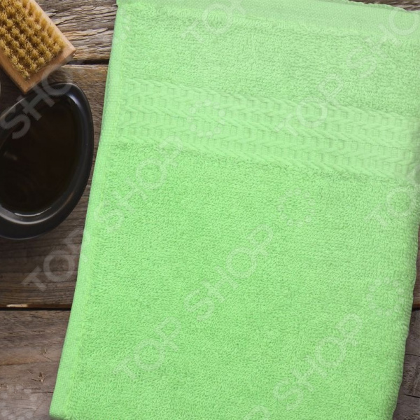 Полотенце махровое Amore Mio AST Classic. Цвет: зеленый полотенце махровое amore mio ast classic цвет малиновый