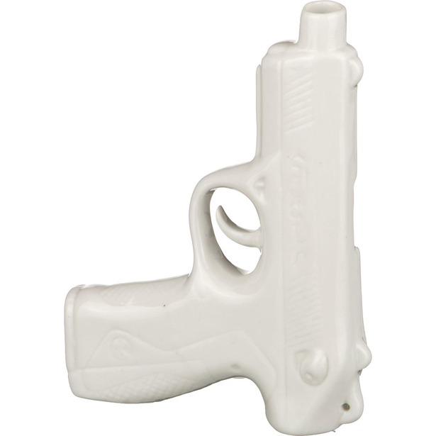 фото Ваза Lefard «Пистолет». Цвет: белый