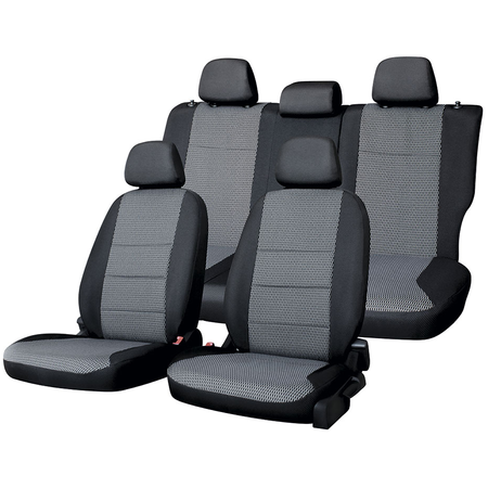 Купить Набор чехлов для сидений Defly Hyundai Solaris, 2011-2017, седан