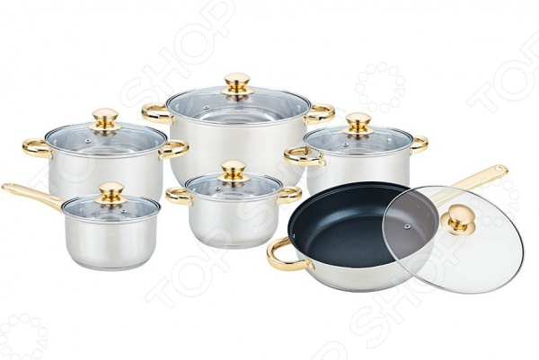 Набор посуды Bekker BK-2717 «Империал»