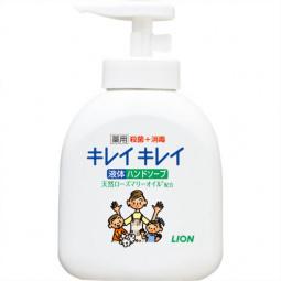 Мыло жидкое для рук во флаконе Lion Kirei Kirei с ароматом цитруса