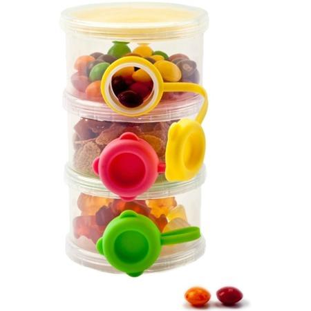 Контейнер для пищевых сыпучих продуктов Bradex с боковыми отверстиями