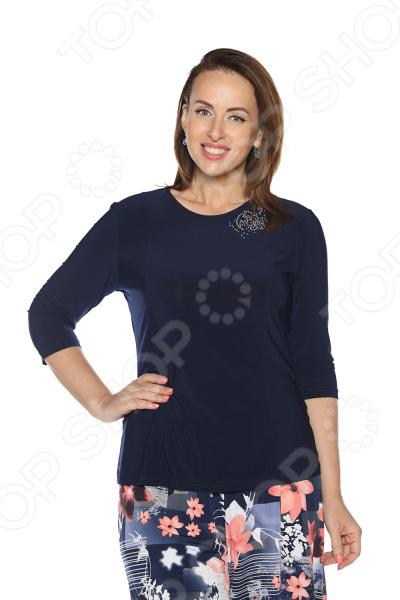Блуза Лауме-Лайн «Блеск твоих глаз». Цвет: темно-синий блуза лауме лайн сад чудес цвет темно синий