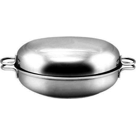 Купить Сковорода-жаровня с крышкой Амет «Классика-Прима»
