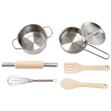 Купить Игровой набор для кухни Hape «Посуда Шеф-повара»