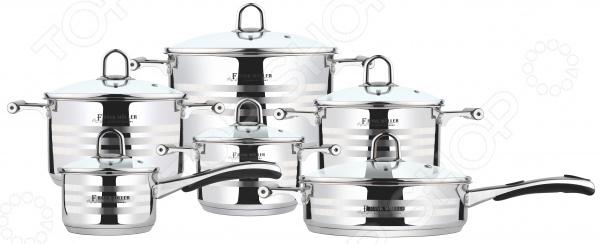 Набор посуды для готовки Frank Moller FM-812 чайник frank moller fm 557