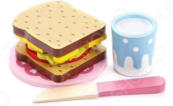Игровой набор для ребенка Mapacha «Сэндвич» деревянные игрушки mapacha игровой набор mapacha забей шарик