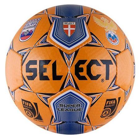 Мяч футбольный Select Super League АМФР РФС FIFA. В ассортименте