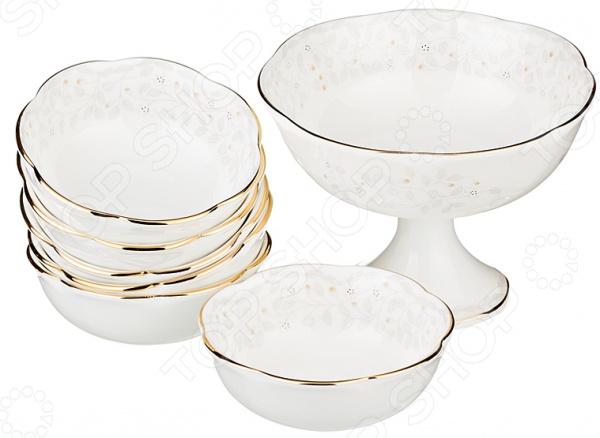 Набор для варенья и меда Lefard «Вивьен» посуда из фарфора оптом