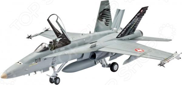 Сборная модель самолета Revell «Макдоннел-Дуглас» F/A-18C Hornet revell сборная модель revell истребитель макдоннел дуглас f a 18c hornet