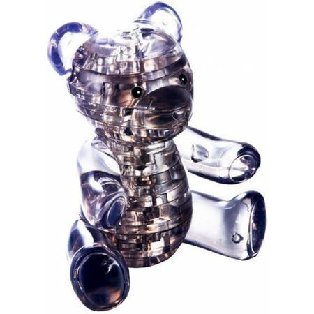 Купить Кристальный пазл 3D Crystal Puzzle «Мишка дымчатый»