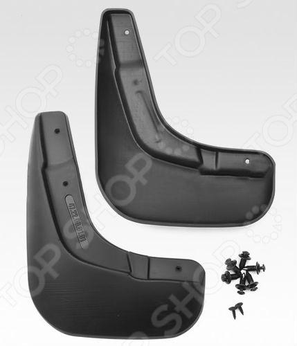 автомобильный коврик seintex 86649 3d для suzuki sx4 ii Брызговики передние Novline-Autofamily Suzuki SX4 2014