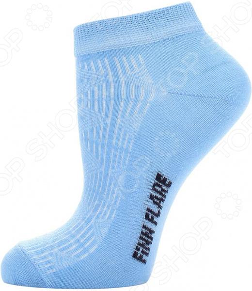 цена  Носки Finn Flare B17-11133. Цвет: голубой  онлайн в 2017 году
