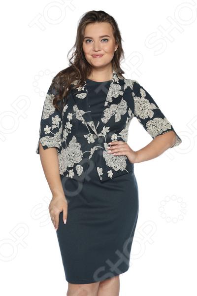 Платье VEAS «Сладкое свидание». Цвет: темно-зеленый недорго, оригинальная цена