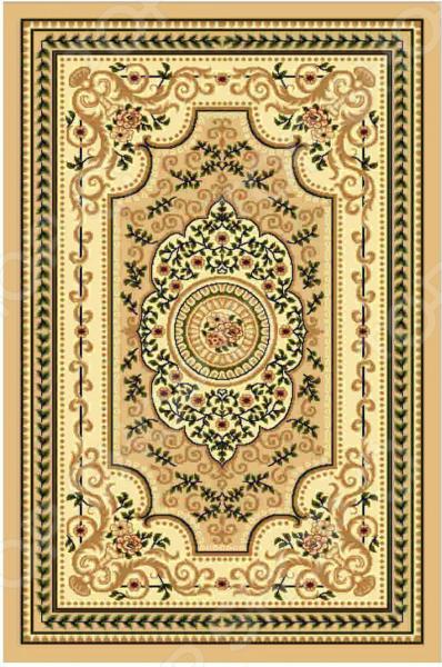 Ковер прямоугольный Kamalak tekstil «Ренессанс». Цвет: бежевый - артикул: 1602619