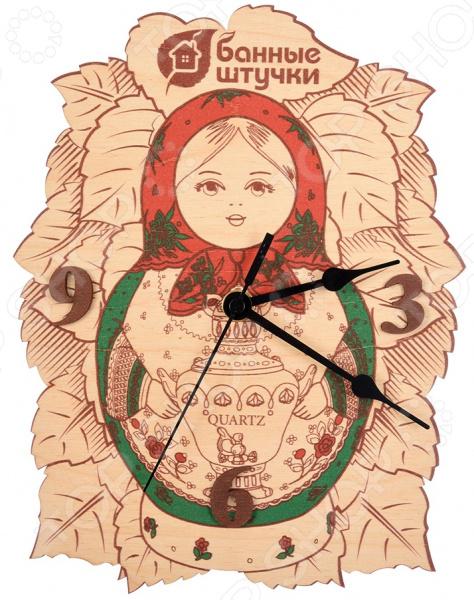 Часы для бани Банные штучки «Матрешка» 32366