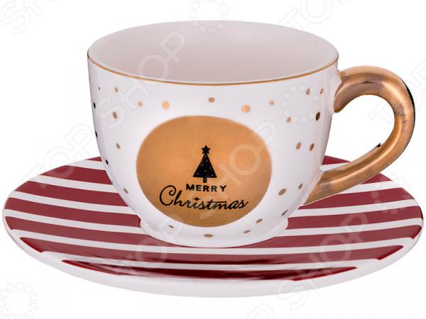 Чайная пара Lefard Merry christmas 493-660