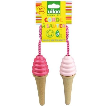 Купить Скакалка VILAC «Мороженое»