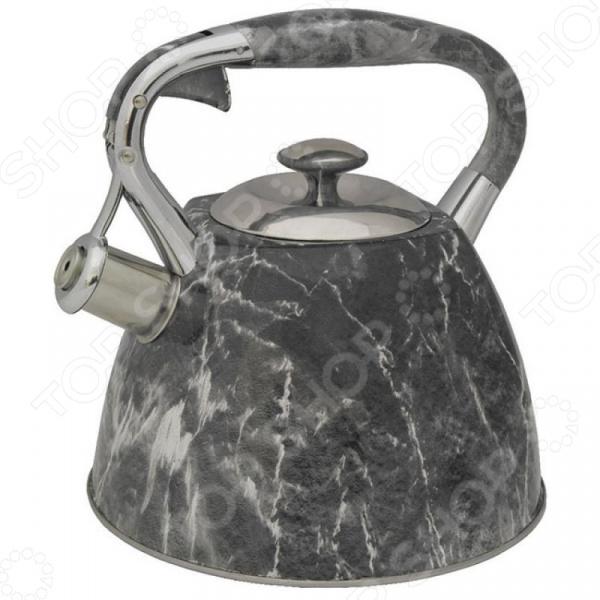 Чайник со свистком Zeidan Z-4186 чайник zeidan 3l brick z 4186