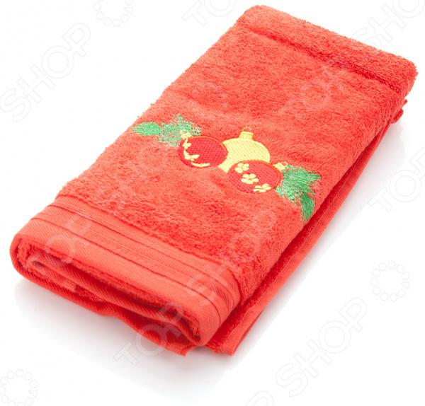 Полотенце подарочное с вышивкой TAC New year bells