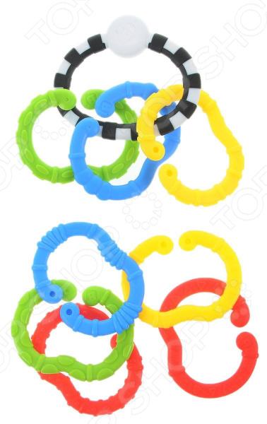 Игрушка развивающая для малыша B kids «Веселые колечки»