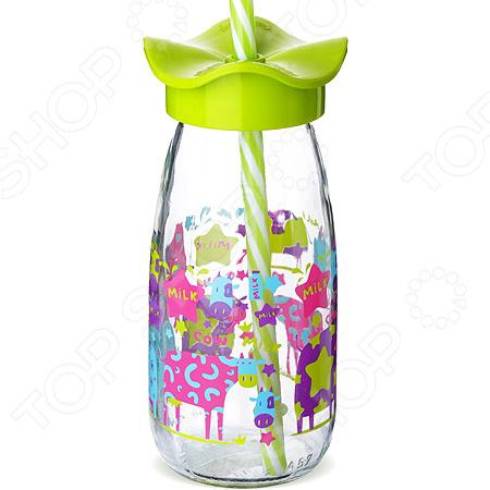 Бутылка для смузи Mayer&Boch с рисунком