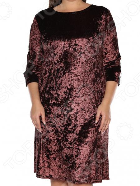 Платье Pretty Woman «Бархатный романс». Цвет: коричневый платье klingel цвет коричневый
