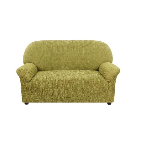 Купить Натяжной чехол на двухместный диван Еврочехол «Сиена Венера»