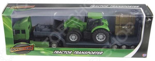 Машинка игрушечная HTI «Фермерский грузовой автомобиль». В ассортименте
