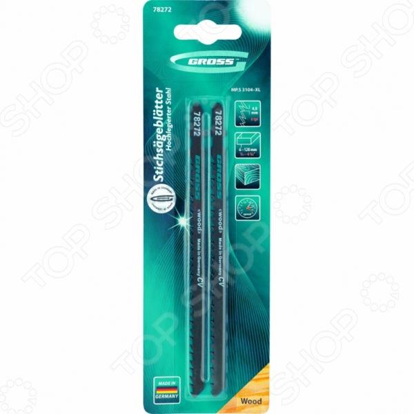 Пилки для электролобзика GROSS 78272