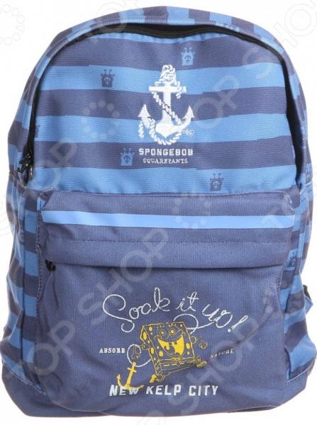 Рюкзак детский Gulliver «Губка Боб» S230051-T рюкзак детский gulliver губка боб s230049 t