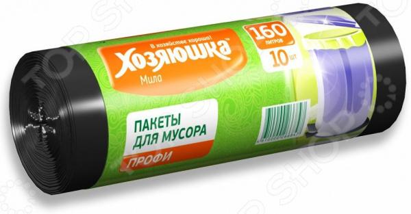 Пакеты для мусора Хозяюшка «Мила» 07018 пакеты для мусора curver 130л 10шт 1115293